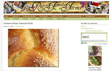 http://razorfamilyfarms.com/cooking/cardamom-bread-sweet-and-rustic/