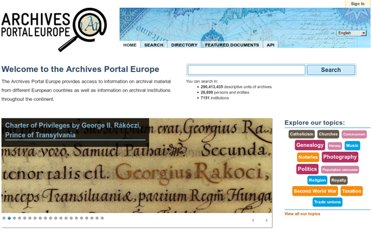 http://www.archivesportaleurope.eu/Portal/showHome.action
