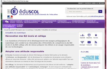 http://eduscol.education.fr/cid58653/renovation-des-b2i-ecole-et-college.html