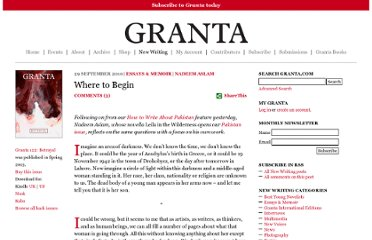 http://www.granta.com/Online-Only/Where-to-Begin