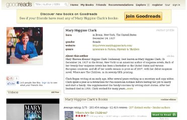 http://www.goodreads.com/author/show/99044.Mary_Higgins_Clark