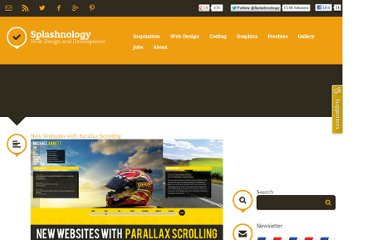 http://www.splashnology.com/article/new-websites-with-parallax-scrolling/4081/