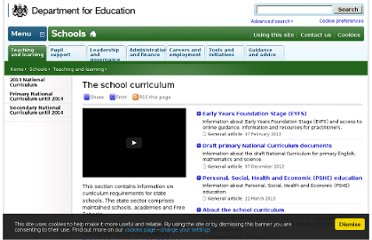 http://www.education.gov.uk/schools/teachingandlearning/curriculum
