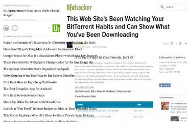 http://lifehacker.com/5867161/this-web-sites-been-watching-your-bittorrent-habits-and-can-show-what-youve-been-downloading