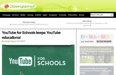 http://www.ubergizmo.com/2011/12/youtube-for-schools/