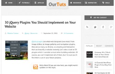 http://www.ourtuts.com/30-jquery-plugins-you-should-implement-on-your-website/