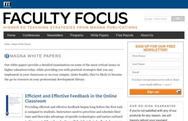http://www.facultyfocus.com/topic/white-papers/