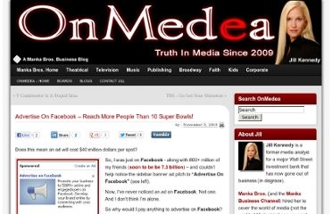 http://mankabros.com/blogs/onmedea/2010/11/05/advertise-on-facebook-reach-more-people-than-10-super-bowls/