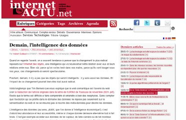 http://www.internetactu.net/2007/09/07/demain-lintelligence-des-donnees/