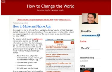 http://blog.guykawasaki.com/2010/01/how-to-make-an-iphone-app.html#axzz0bcntMiYD