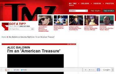 http://www.tmz.com/2011/12/11/alec-baldwin-american-treasure-saturday-night-live/