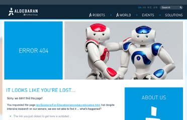 http://www.aldebaran-robotics.com/en/Solutions/For-Education/secondary-education.html