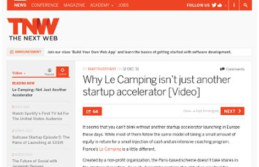 http://thenextweb.com/video/2011/12/12/why-le-camping-isnt-just-another-startup-accelerator-video/
