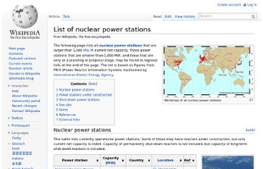 http://en.wikipedia.org/wiki/List_of_nuclear_power_stations