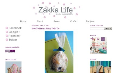 http://zakkalife.blogspot.com/2010/07/how-to-make-pretty-twist-tie.html