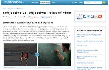http://recomparison.com/comparisons/100757/subjective-vs-objective-point-of-view/