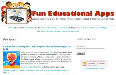 http://www.funeducationalapps.com/best-ipad-apps-for-kids/
