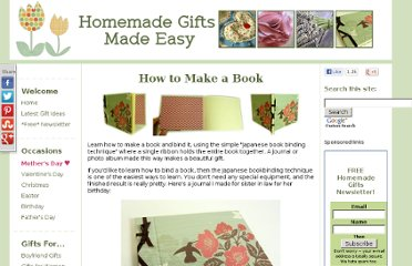 http://www.homemade-gifts-made-easy.com/how-to-make-a-book.html
