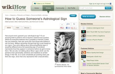 http://www.wikihow.com/Guess-Someone%27s-Astrological-Sign