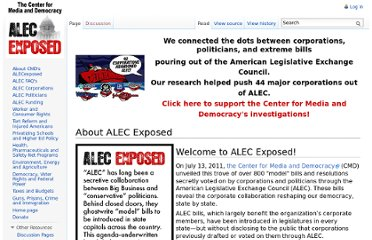 http://alecexposed.org/wiki/About_ALEC_Exposed