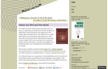 http://mindhacks.com/2011/12/12/explore-your-blind-spot-free-ebook/