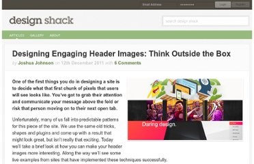http://designshack.net/articles/layouts/designing-engaging-header-images-think-outside-the-box/