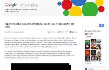 http://googleblog.blogspot.com/2011/12/experience-tsunami-affected-areas-of.html