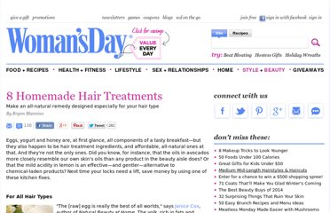http://www.womansday.com/style-beauty/beauty-tips-products/8-homemade-hair-treatments-110251