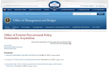 http://www.whitehouse.gov/omb/procurement_index_green