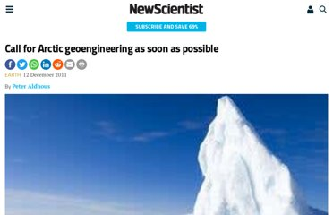 http://www.newscientist.com/article/dn21275-call-for-arctic-geoengineering-as-soon-as-possible.html