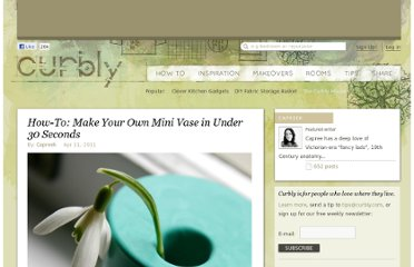 http://www.curbly.com/users/capreek/posts/10134-how-to-make-your-own-mini-vase-in-under-30-seconds