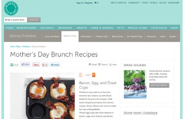 http://www.marthastewart.com/342077/mothers-day-brunch-recipes