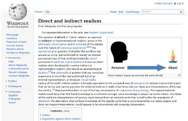 http://en.wikipedia.org/wiki/Direct_and_indirect_realism