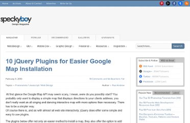 http://speckyboy.com/2010/02/03/10-jquery-plugins-for-easier-google-map-installation/