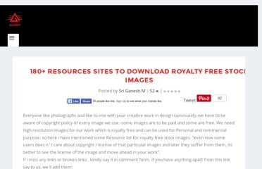 http://www.animhut.com/inspiration/huge-list-for-royalty-free-stock-images/