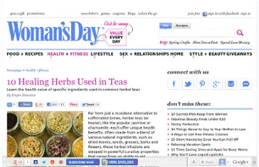 http://www.womansday.com/health-fitness/10-healing-herbs-used-in-teas-75249