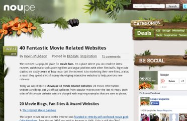 http://www.noupe.com/design/40-fantastic-movie-related-websites.html