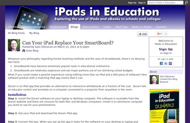 http://ipadeducators.ning.com/profiles/blogs/can-your-ipad-replace-your