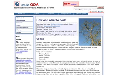 http://onlineqda.hud.ac.uk/Intro_QDA/how_what_to_code.php