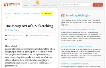 http://uxdesign.smashingmagazine.com/2011/12/13/messy-art-ux-sketching/