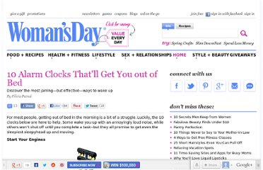 http://www.womansday.com/home/10-alarm-clocks-thatll-get-you-out-of-bed-118525