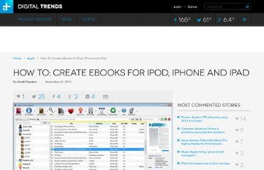 http://www.digitaltrends.com/how-to/how-to-create-ebooks-for-ipod-iphone-and-ipad/