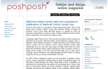 http://poshposh.com/2009/07/delicious-cotton-candy-cake-and-cupcakes-in-celebration-of-national-cotton-candy-day/