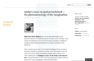 http://aureliomadrid.wordpress.com/2011/08/21/miekes-essay-on-gaston-bachelard-the-phenomenology-of-the-imagination/