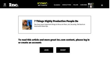 http://www.inc.com/ilya-pozin/7-things-highly-productive-people-do.html