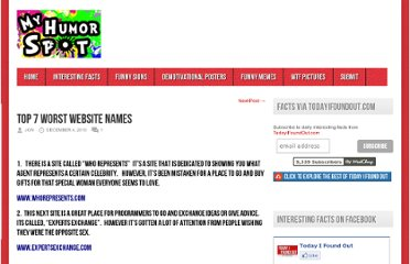 http://myhumorspot.com/index.php/headline/top-7-worst-website-names/