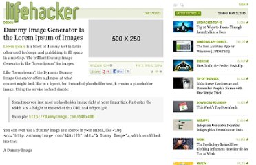 http://lifehacker.com/5463500/dummy-image-generator-is-the-lorem-ipsum-of-images