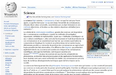 http://fr.wikipedia.org/wiki/Science