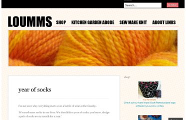 http://loumms.wordpress.com/designs/patterns-by-loumms/socks/year-of-socks/