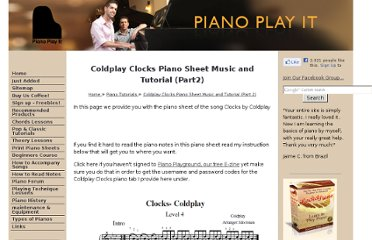 http://www.piano-play-it.com/coldplay-clocks-piano.html